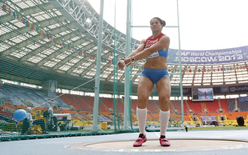 Tatyana Lysenko, who was stripped of her London 2012 gold medal, was one of many athletes to be banned for doping in this period ©Getty Images