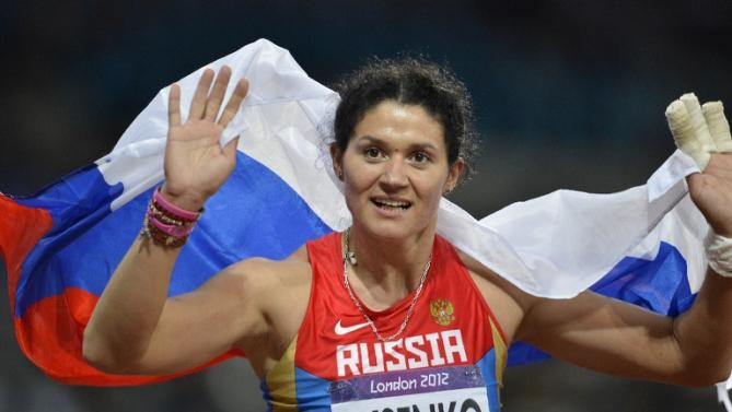Russia's Tatyana Beloborodova is facing the prospect of having her Olympic hammer throw gold medal stripped ©Getty Images