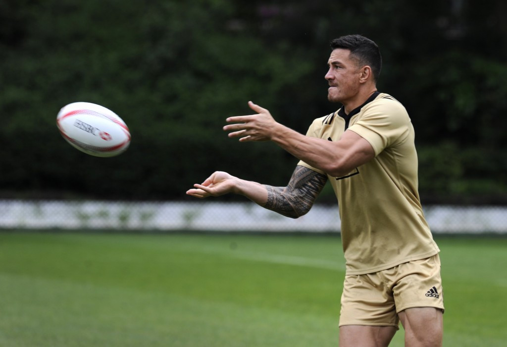 Rugby World Cup winner Sonny Bill Williams is set to make his return from injury at the Hong Kong Sevens