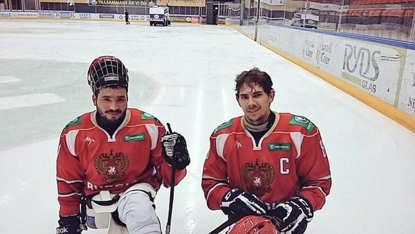 Russia were far too strong for Germany ©IPC Sledge Hockey/Twitter