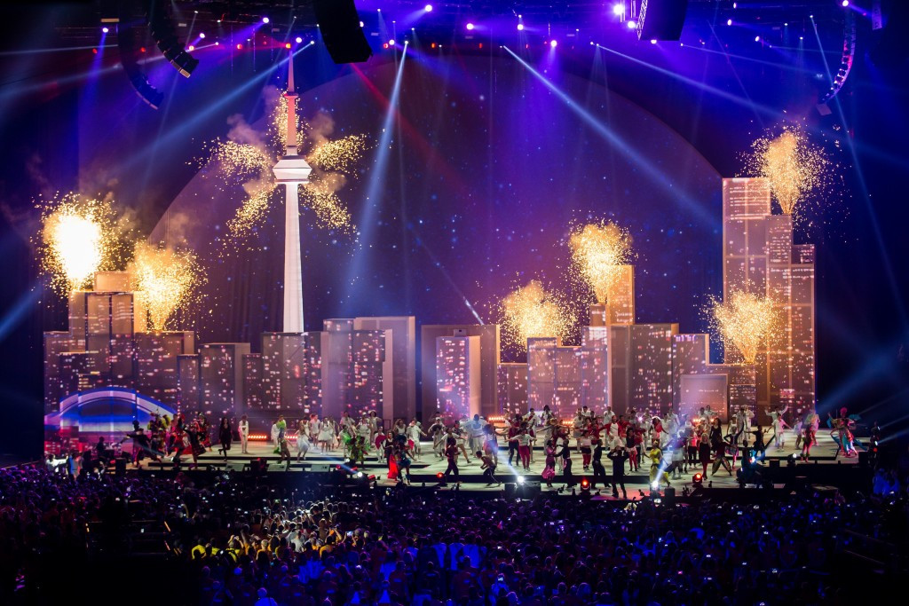 Producers of Toronto 2015 Pan American Games closing ceremony honoured with award