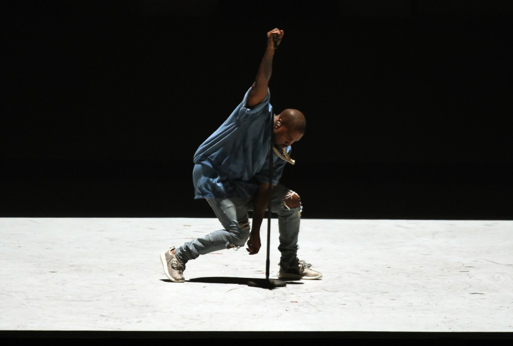 Kanye West was one of the headline acts at the Closing Ceremony