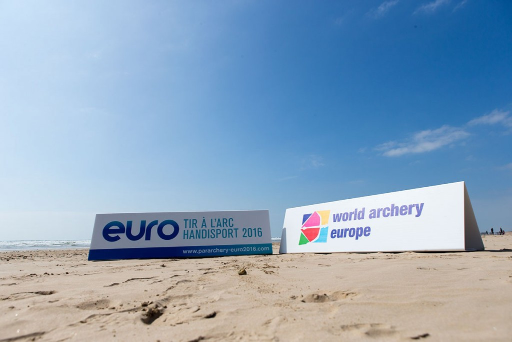 The European Para-Archery Championships continued in Saint-Jean-de-Monts in France today ©Facebook