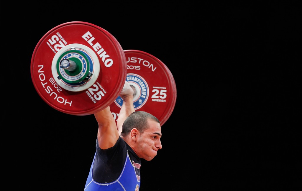 Valentin Hristov of Azerbaijan was another to test positive in Houston