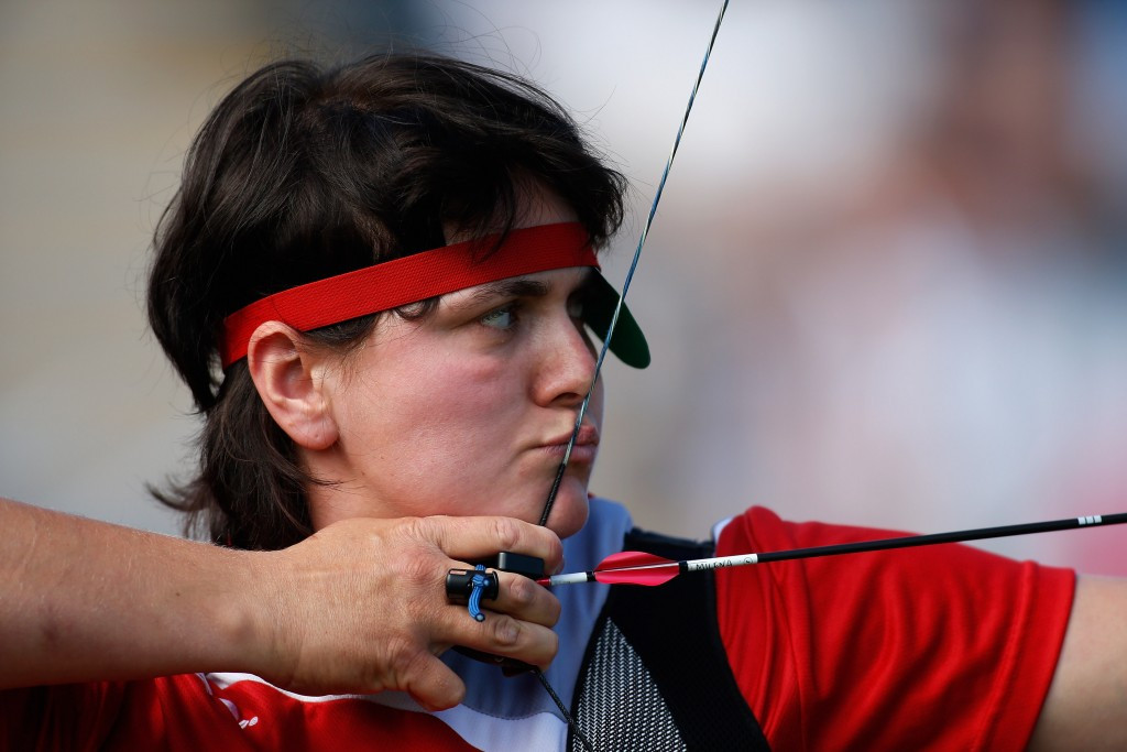 Milena Olszewska was part of Poland's gold medal-winning mixed recurve team at the European Para-Archery Championships ©Getty Images