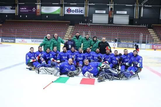 Defending champions Italy took home silver after beating Sweden 4-1