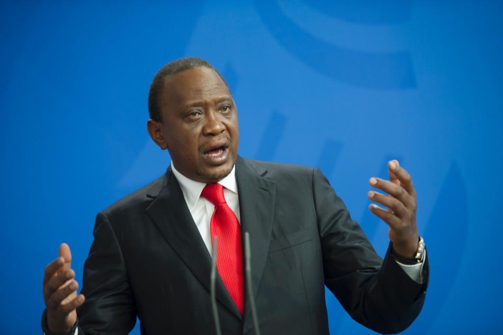 Kenyan President Uhuru Kenyatta has pledged to meet the WADA deadline ©Getty Images