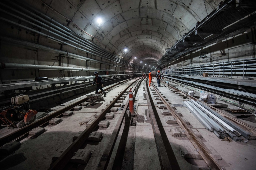 """Rio 2016 have hailed a """"breakthrough"""" after the completion of tunnel excavation on the metro line extension ©AFP/Getty Images"""