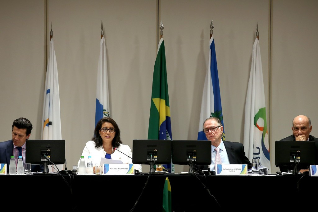 IOC officials cautiously praised Rio 2016 following their final inspection visit ©Getty Images