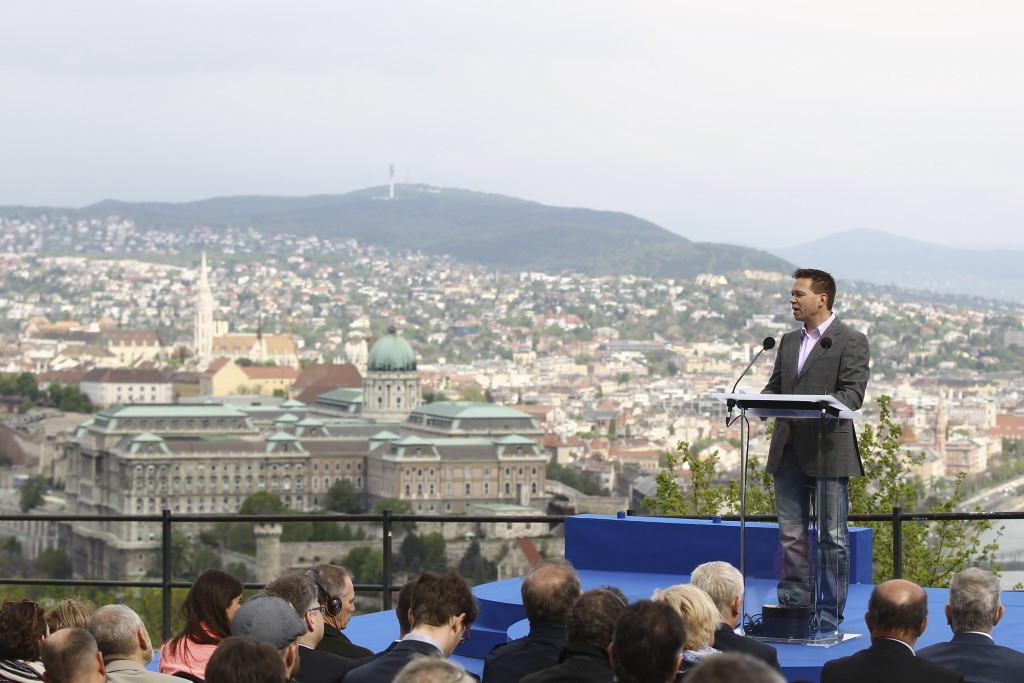 Budapest 2024 chairman Balázs Fürjes has dismissed suggestions the city is the rank outsider in the race for the 2024 Olympics and Paralympics ©Budapest 2024