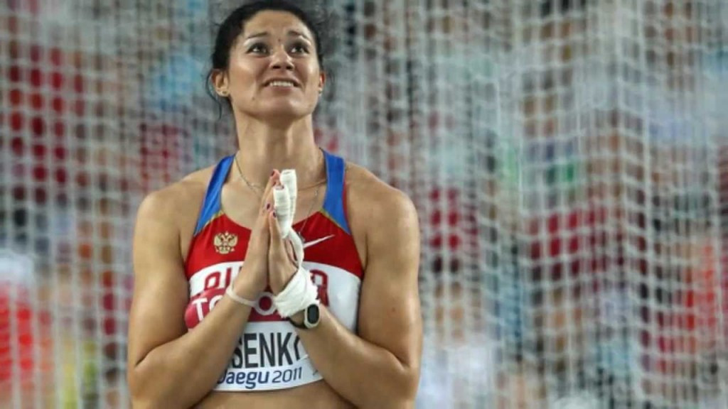 The case of Russian hammer thrower Tatyana Beloborodova is also likely to be affected by today's CAS decision, meaning she will be able to keep the Olympic gold medal she won at London 2012 ©Getty Images