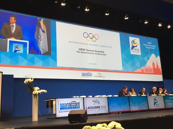 SportAccord Convention: Day One