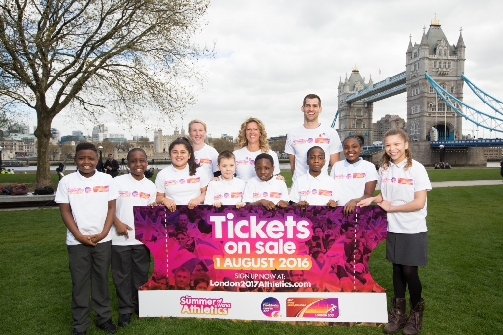 London 2017 held its ticket launch event today ©London 2017