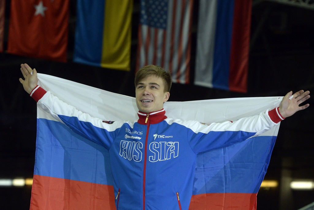 Olympic champion Semion Elistratov has had his doping ban temporarily lifted ©Getty Images
