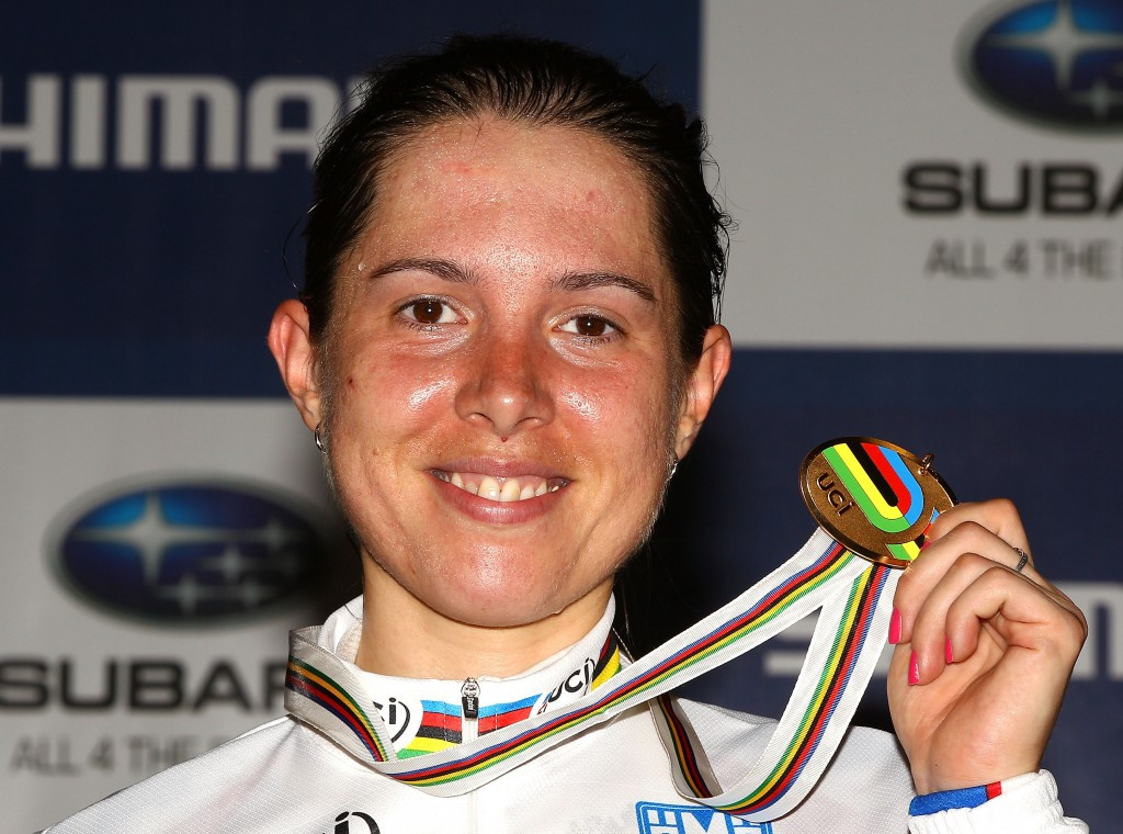 Former track cycling world champion Anastasia Chulkova has not been disqualified by RUSADA