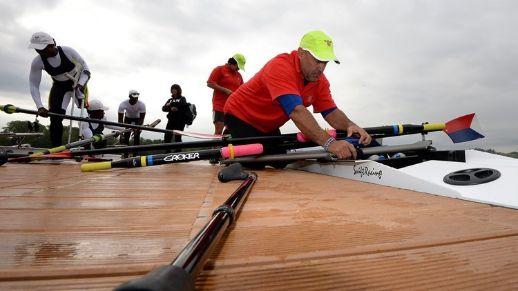 Four countries qualify for women's single sculls final at Paralympic Qualification Regatta