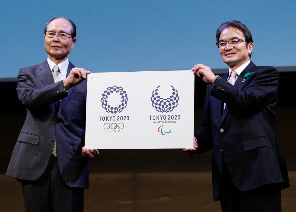 Tokyo 2020 have unveiled their emblems for the Olympic and Paralympic Games ©Tokyo 2020