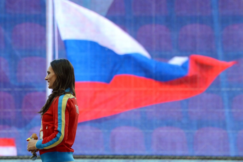 Russia's flag and national anthem is banned from Tokyo 2020 ©Getty Images