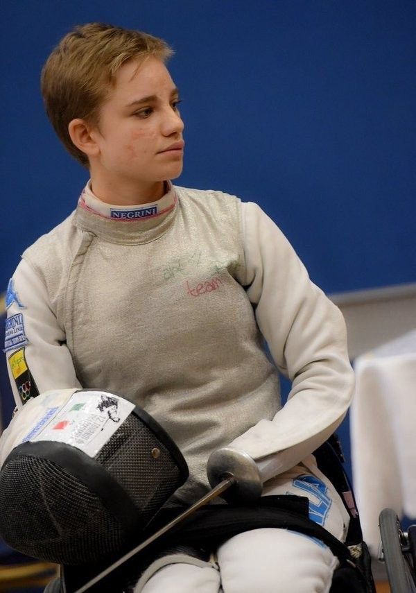 Beatrice Vio has now remained unbeaten for 10 consecutive competitions ©Twitter/IWAS