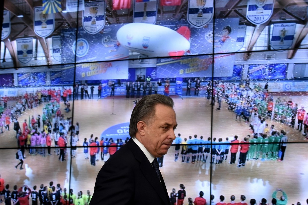 Russian Sports Minister Vitaly Mutko has been among those to criticise Yuliya Stepanova ©Getty Images