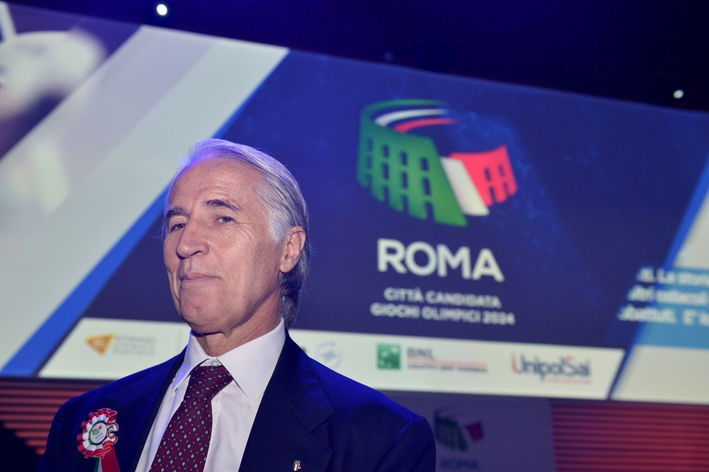 Giovanni Malago met with Virginia Raggi for two hours