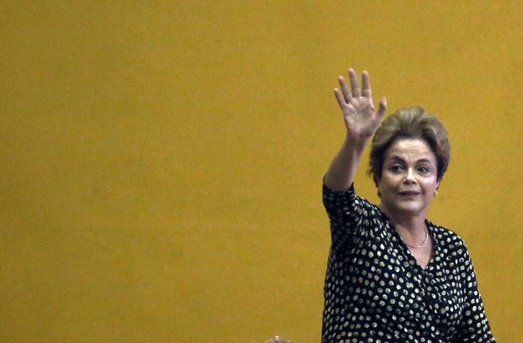 Dilma Rousseff will miss the Rio 2016 Olympics after Brazil's Senate voted to proceed to an impeachment trial ©Getty Images
