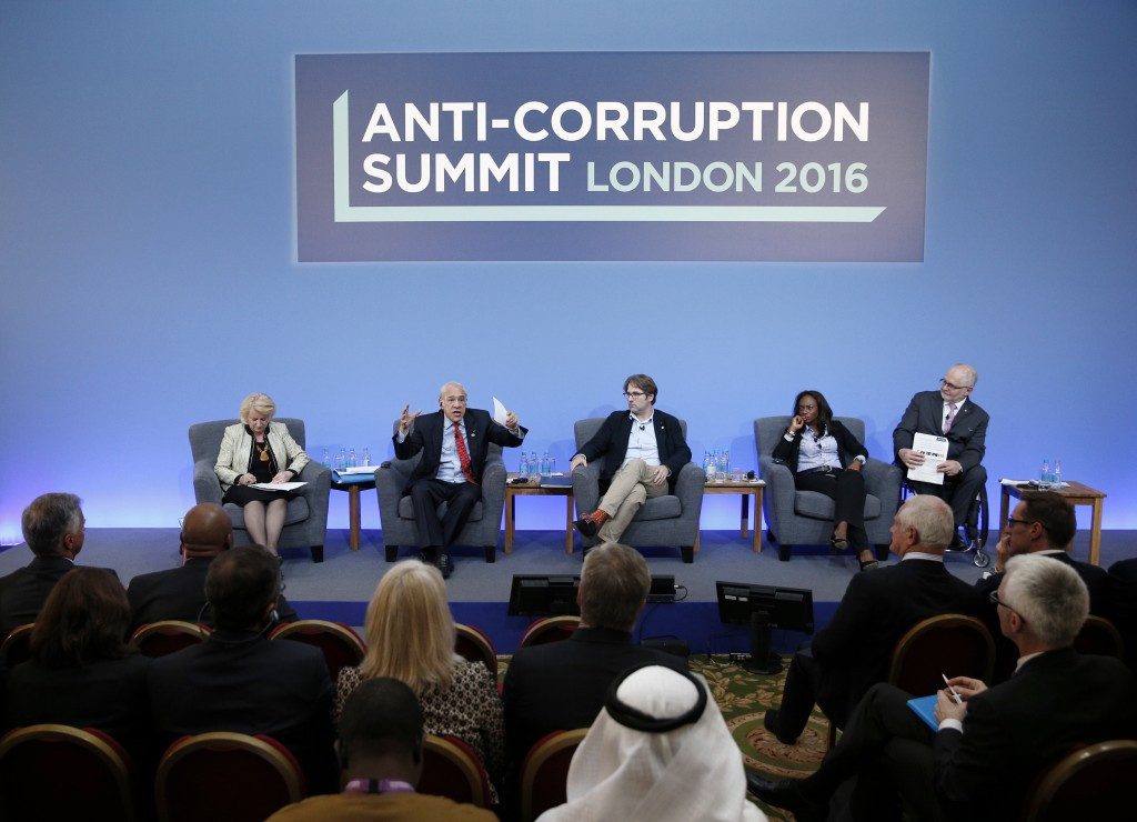 The Anti-Corruption Summit was held in London today