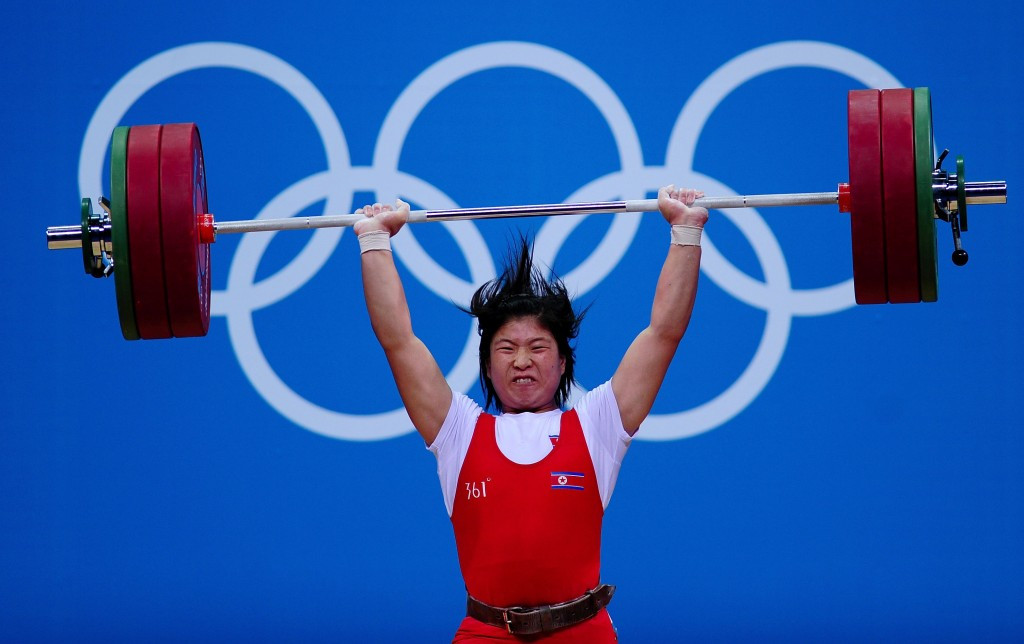 North Korea has emerged as a weightlifting power