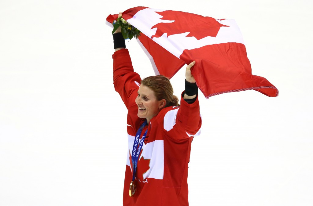 IOC member and Sochi 2014 champion Hayley Wickenheiser is among those to have had her say