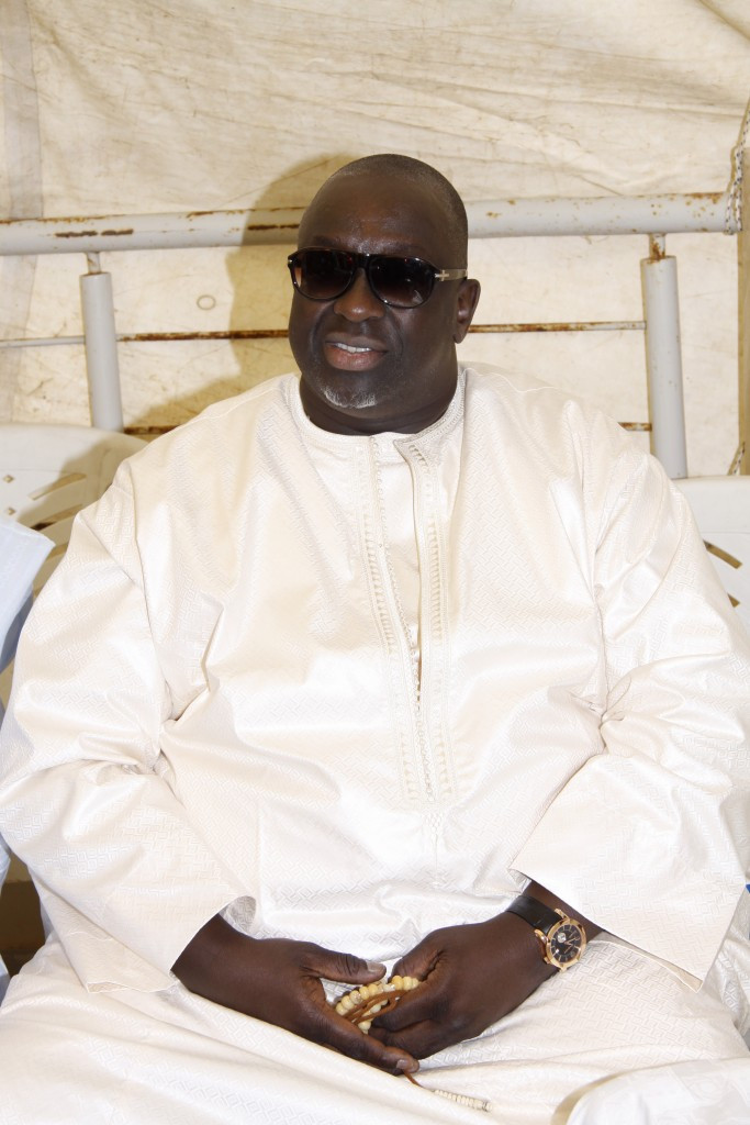 Lamine Diack's son Papa Moussata, has criticised the allegations ©Getty Images