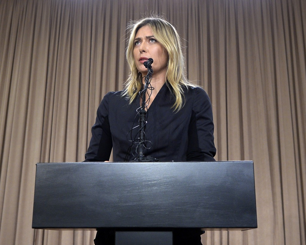 No final ruling is expected on Maria Sharapova until next month ©Getty Images