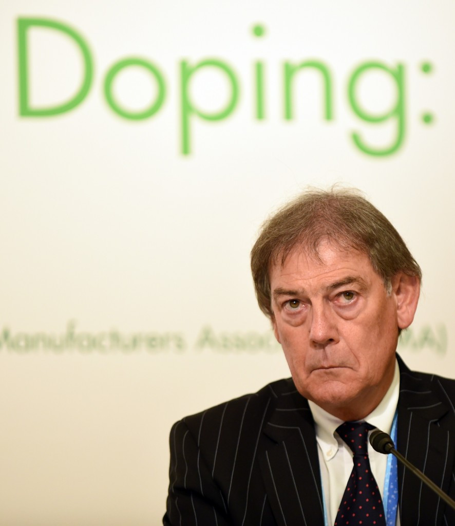 Holz will report to WADA's director general David Howman (pictured)