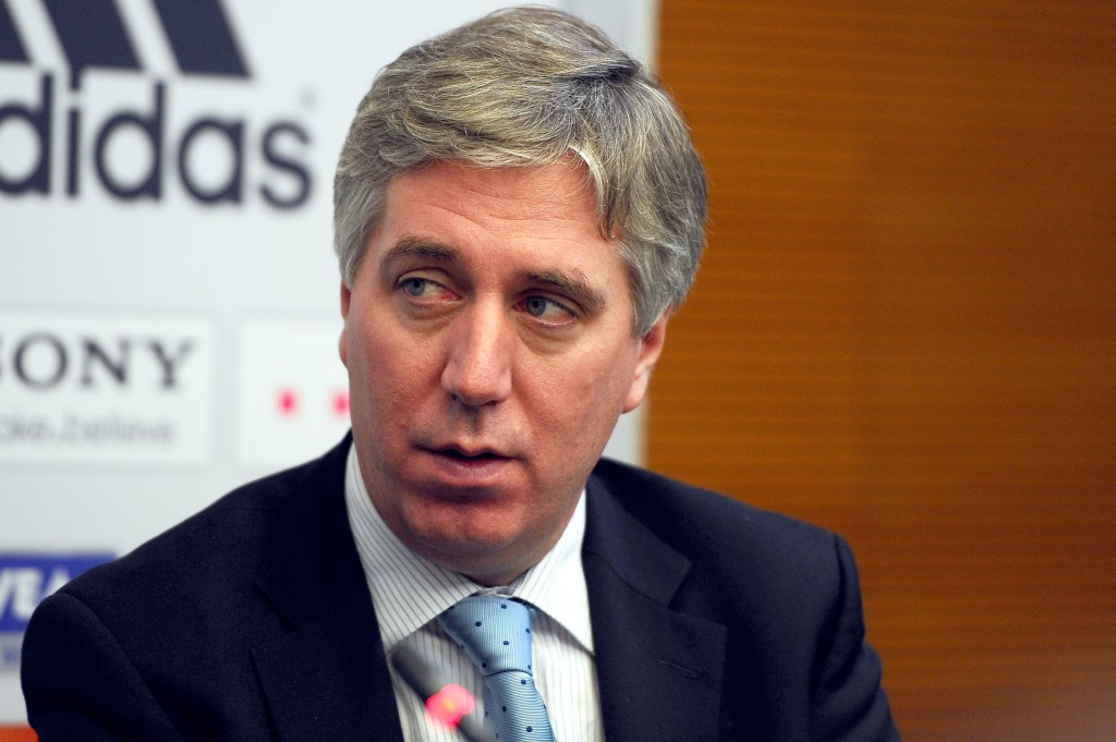 Former FAI chief executive John Delaney is currently part of a criminal investigation ©Getty Images