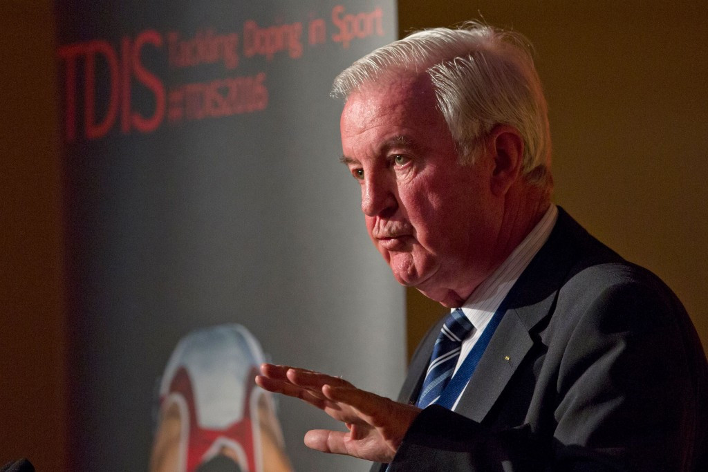 WADA President Sir Craig Reedie hopes to have a $1 million-plus investigations fund ©Getty Images
