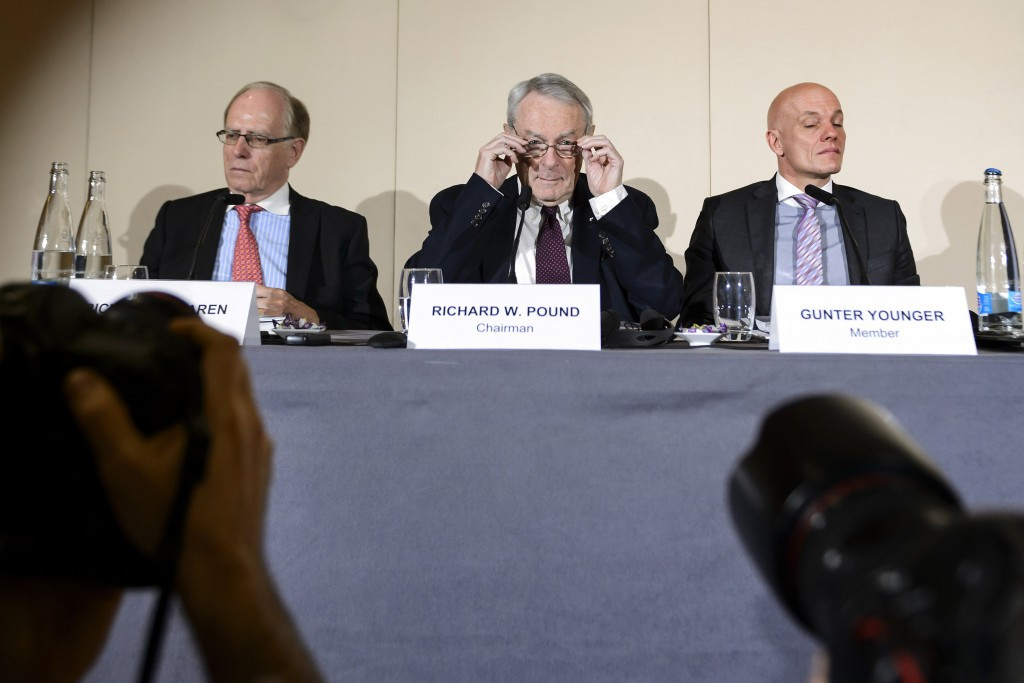Richard McLaren (left) will lead the investigation looking into Sochi 2014