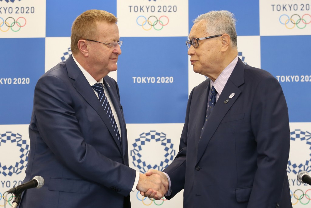 IOC vice-president John Coates reiterated his support for Tokyo 2020 despite the ongoing corruption scandal