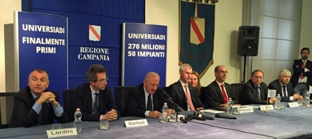 FISU expressed their confidence that the Universiade will provide a fantastic legacy for the city