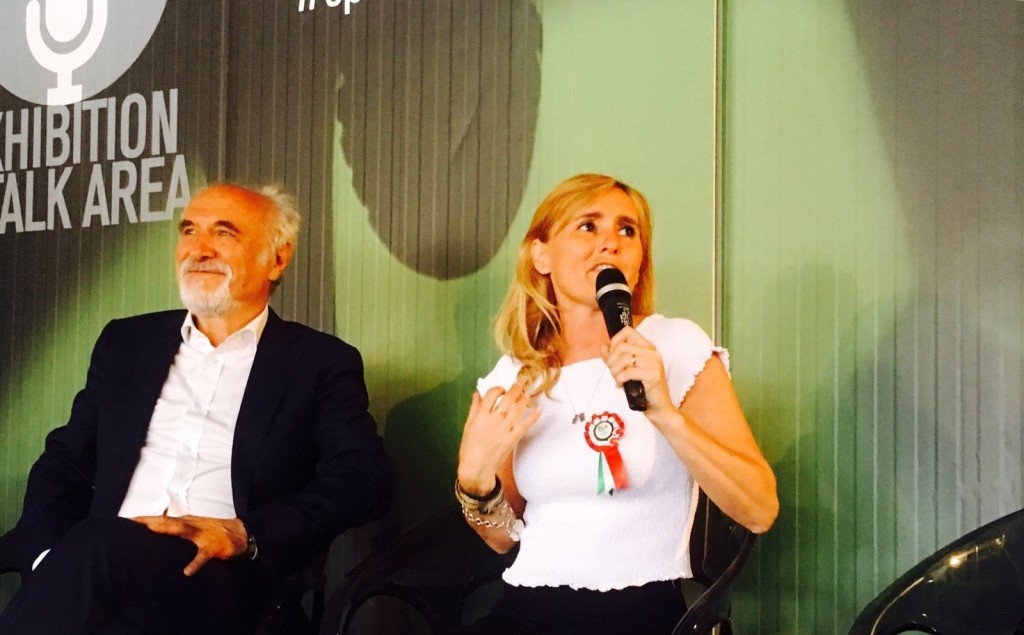 Roma 2024 general coordinator Diana Bianchedi was among those in attendance at the RunFest press conference
