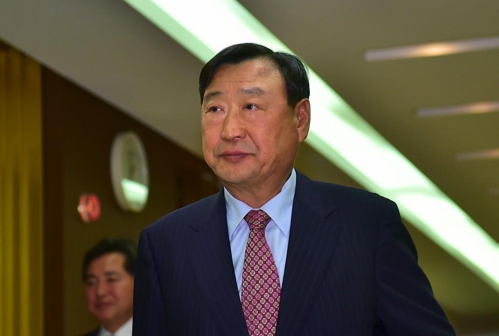 Lee Hee-beom has targeted increasing sponsorship revenue ©Getty Images
