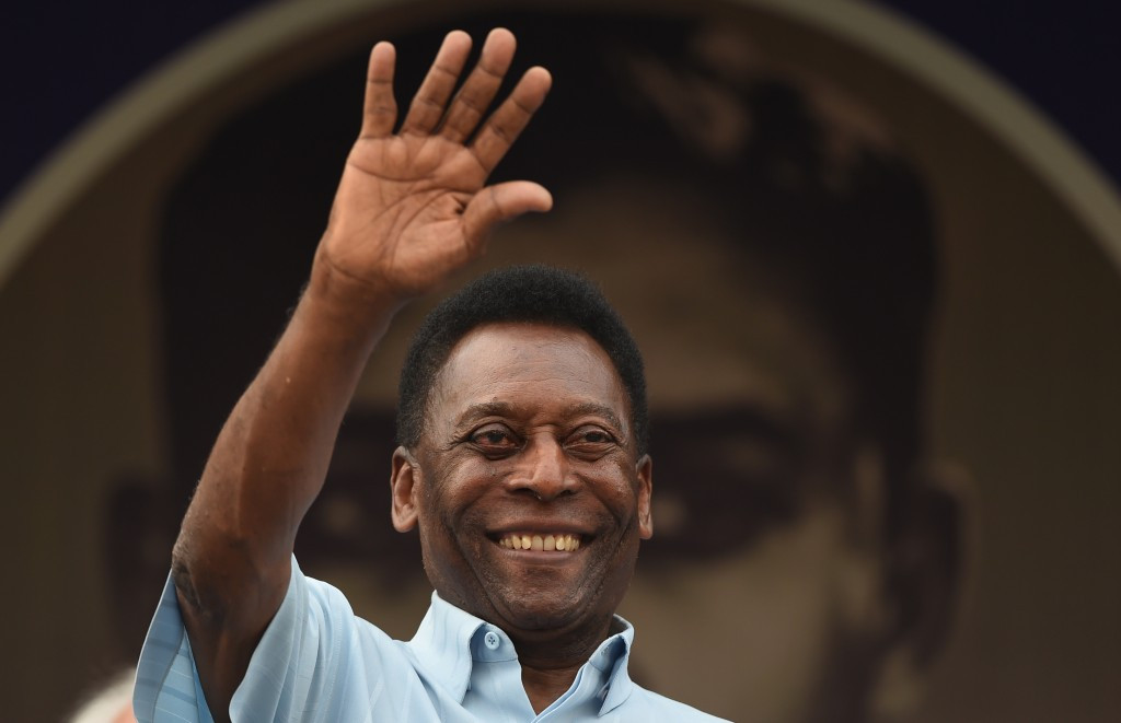 Brazilian football legend Pelé has decided to auction off all of the sporting and cultural memorabilia he has accumulated throughout his career ©Getty Images
