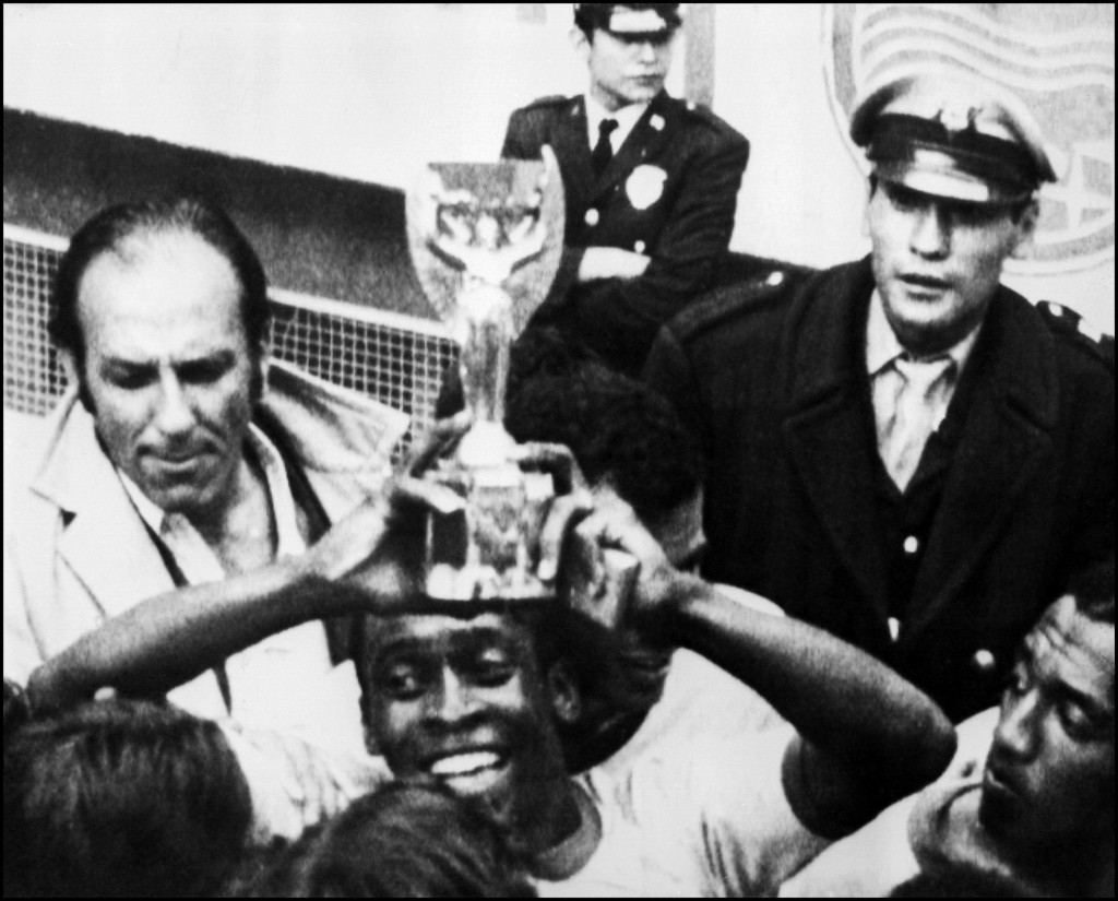 Pele is the only player ever to win the FIFA World Cup three times