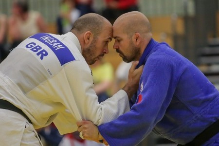 Two-time Paralympic medallist Ingram wins gold at Visually Impaired Judo Grand Prix
