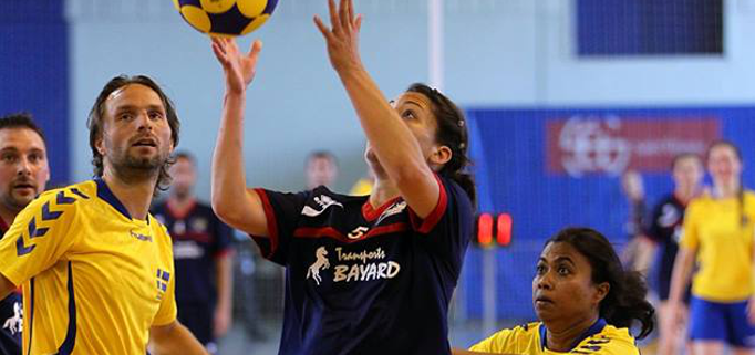 Korfball is one of the few remaining sports played competitively by mixed-gender teams