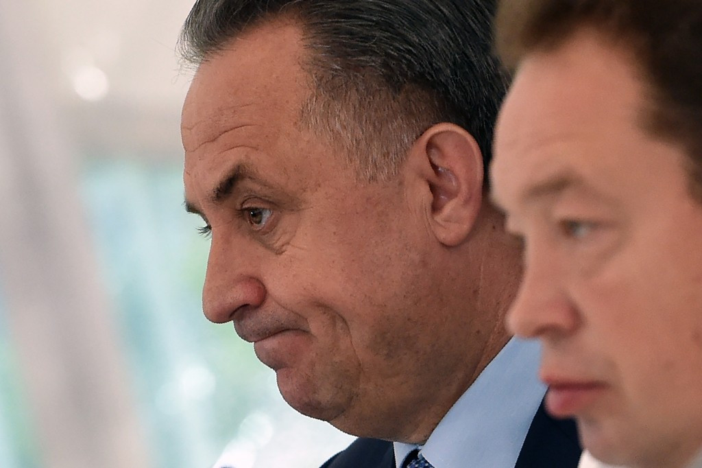 Vitaly Mutko is to stand for the RFU Presidency ©Getty Images