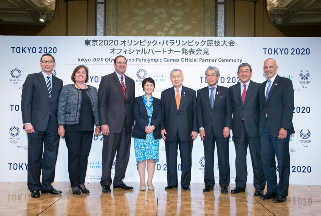 Cisco Systems GK has become the 37th domestic partner of Tokyo 2020 and the 22nd Official Partner