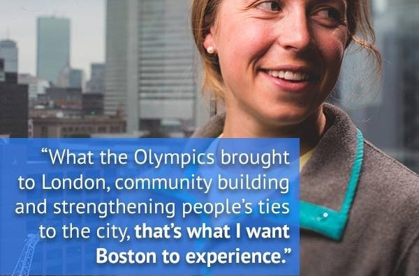 Boston 2024 is engaged in a battle to win the hearts and minds of the local citizens but is struggling to win them over so far
