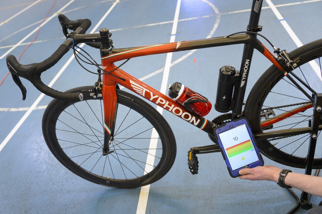 The UCI and Typhoon had partnered to help develop the scanner