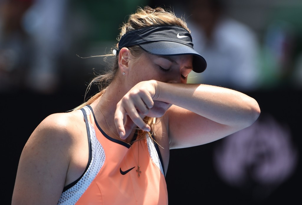 Maria Sharapova has appeared to the Court of Arbitration for Sport ©Getty Images