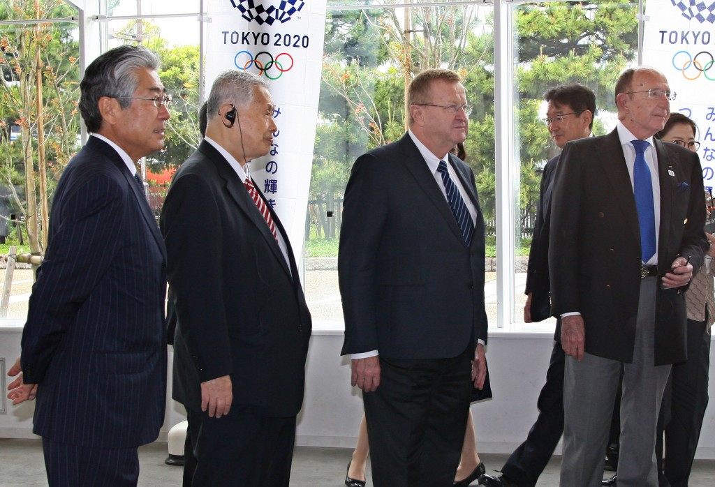 Tsunekazu Takeda (left) has claimed to not know of time-frame regarding the French investigation into a payment to Black Tidings