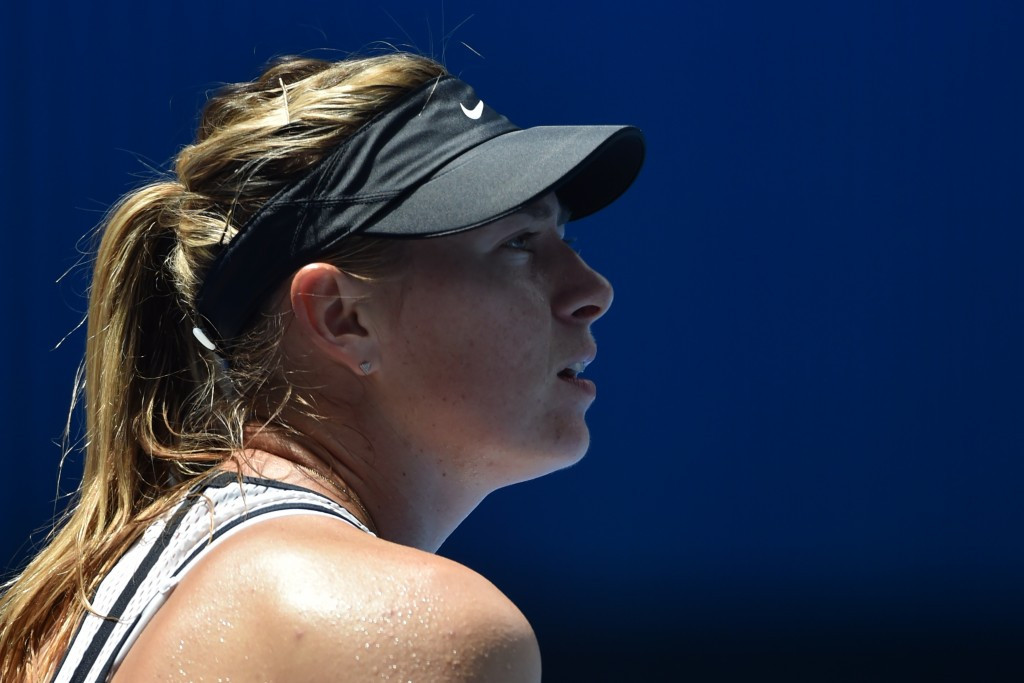 Russia's Maria Sharapova was found to have deliberately used meldonium to enhance performance by an International Tennis Federation Independent Tribunal and was banned for two years ©Getty Images